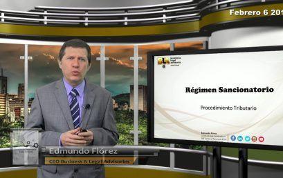 Reforma Tributaria Cambios al Regimen Sancionatorio