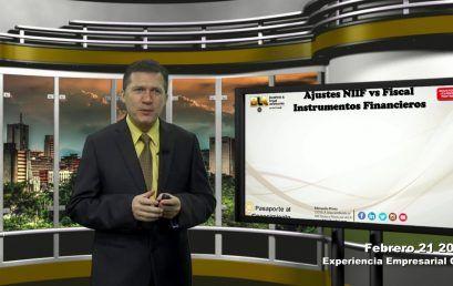 Reforma Tributaria NIIF vs Fiscal Instrumentos Financieros