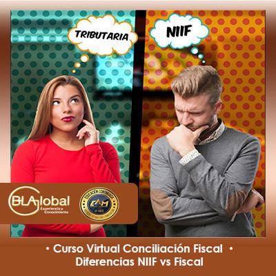 Curso virtual Conciliación Fiscal – Diferencias NIIF vs Fiscal