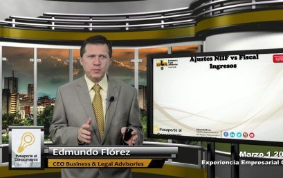 Reforma Tributaria NIIF vs Fiscal  Ingresos
