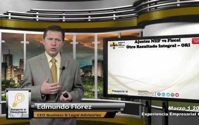 Reforma Tributaria NIIF vs Fiscal ORI otro Resultado Integral