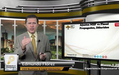 Reforma Tributaria NIIF vs FISCAL Prepagados, Diferidos otras Inversiones
