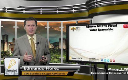 Reforma Tributaria NIIF vs Fiscal Valor Razonable